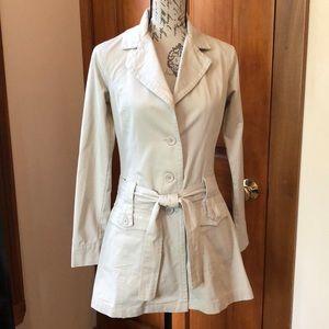 Lux trench coat